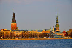 Riga old city Royalty Free Stock Photos