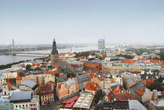 Riga old city view Royalty Free Stock Image
