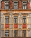 Riga Old House Facade Royalty Free Stock Photo