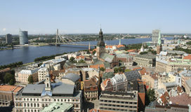 Riga old town Stock Images