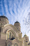 Riga Orthodox Cathedral 01 Stock Images