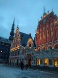riga Oude Stad stock afbeelding