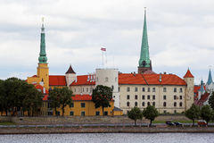 Riga, oude stadsmening Royalty-vrije Stock Fotografie