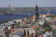 Riga panorama Royalty Free Stock Image