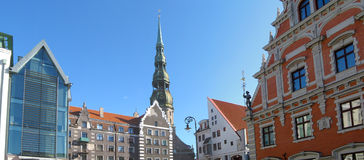 Riga panorama Stock Photo