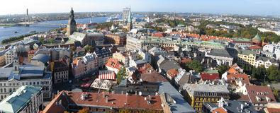 Riga panorama Royalty Free Stock Photography