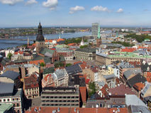 Riga panorama Royalty Free Stock Image