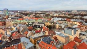 Riga Panorama Stock Image