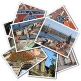 Riga postcards royalty free stock photos