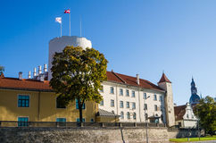 Riga, the presidential palace Stock Photography