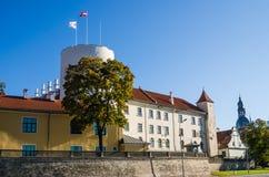 Riga presidentpalatset Arkivbild