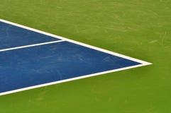 Riga priorità bassa della corte di tennis Fotografie Stock Libere da Diritti