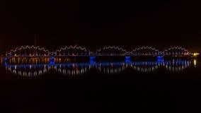 Riga Railway Bridge Stock Photo