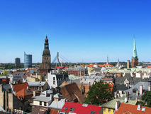 Riga Roofs Royalty Free Stock Images