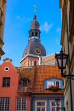 Riga's Old Town Stock Photography