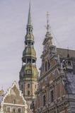 Riga Saint Peters Church Stock Image