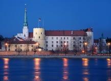 Riga-Schloss. Lizenzfreie Stockfotografie