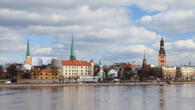 Riga Skyline Stock Images
