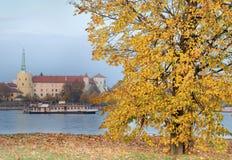 Riga slott. royaltyfria foton