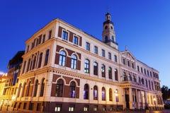 Riga stadshus Royaltyfri Fotografi
