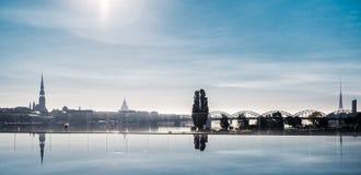 Riga-Stadt stockbilder
