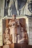 Riga statue Stock Images