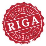 Riga-Stempelgummischmutz Stockbilder