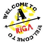 Riga-Stempelgummischmutz Lizenzfreie Stockfotografie