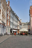Riga street Royalty Free Stock Images