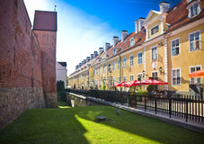 Riga. The streets in old town, Riga, Latvia Stock Image