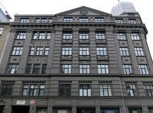 Riga, Terbatas 53, costruente nello stile retrospettivo Immagine Stock