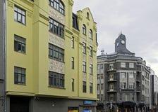 Riga, Terbatas 9-14, moderno Imágenes de archivo libres de regalías