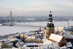 Riga town stock images