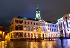 Riga town hall Royalty Free Stock Images