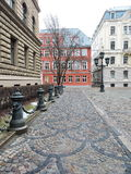 Riga town ond buildings , Latvia Royalty Free Stock Photo