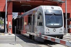 Riga treno dell'oro a Pasadena Immagini Stock Libere da Diritti
