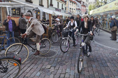 Riga Tweed Run Royalty Free Stock Photography