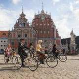 Riga Tweed Run Royalty Free Stock Images