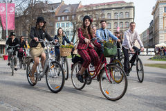 Riga Tweed Run Royalty Free Stock Photos