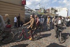 Riga Tweed Run Stock Photo