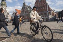 Riga Tweed Run Stock Photos