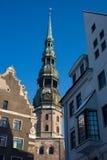 Riga, vecchia città Immagine Stock