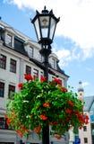 Riga velho no verão Fotos de Stock Royalty Free