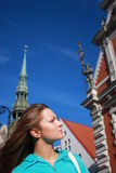 Riga velho - uma das cidades as mais bonitas Imagem de Stock Royalty Free