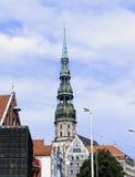 Riga vieja Imágenes de archivo libres de regalías