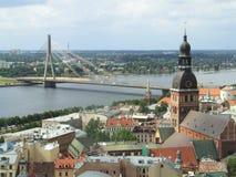 Riga vieja Foto de archivo libre de regalías