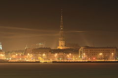 Riga, the winter city Stock Photos