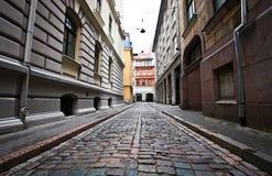 Riga zonder mensen Royalty-vrije Stock Fotografie
