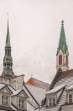 Rigan Steeples Stock Image