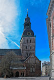 Rigas Doms, Cathedral of Riga City Stock Photos
